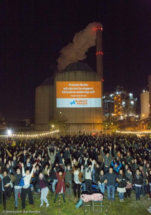 'Actions for Climate' Global Day of Action in the Netherlands Wereldwijd Actiedag tegen Klimaatverandering