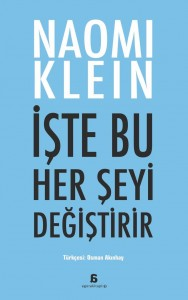 Naomi Klein Turkish Cover Intet bliver som før This Changes Everything