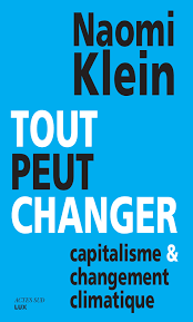 Naomi Klein French Cover Intet bliver som før This Changes Everything