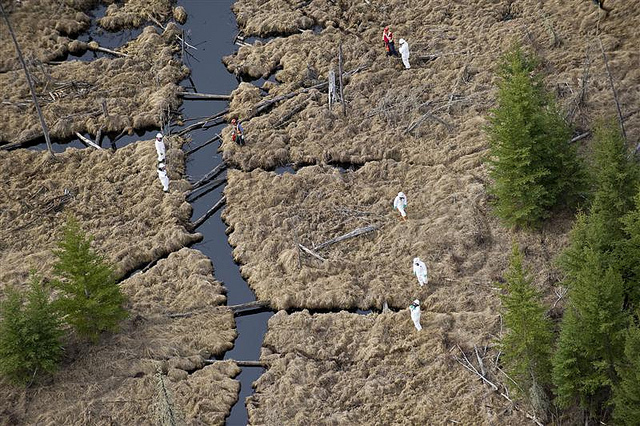 Rainbow Pipeline Oil Spill in Alberta